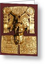 Mixtec: God Of The Dead Greeting Card
