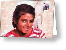 Mj And Polly Greeting Card