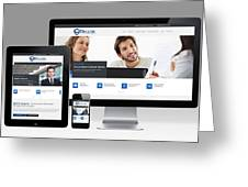 Mjollnir Group Inc - Responsive Website Greeting Card