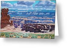 Arches National Park,moab, Utah Greeting Card