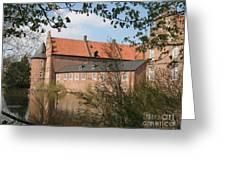 Moated Castle Herten II Greeting Card