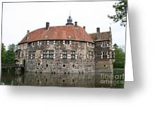 Moated Castle Vischering Greeting Card