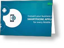 Mobile-app-development-mobiloitte Greeting Card