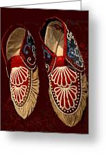 Moccasins Greeting Card