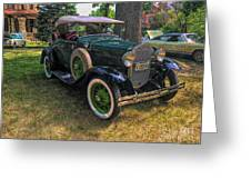 1928 Model A Ford  Greeting Card