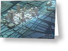 Model City 2 Greeting Card