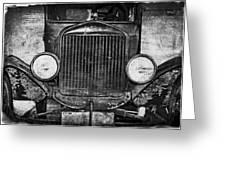 Model T 1924 Greeting Card