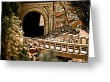 Model Train Tunnel 2 Greeting Card