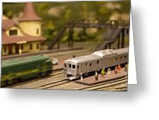 Model Trains Greeting Card