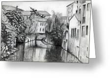 Modena Italy Greeting Card