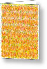 Modern Abstract Pointilist Color Combination 1 Greeting Card