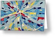 Modern Art One Greeting Card