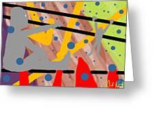 Modern Art Viii Greeting Card