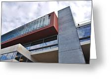 Modern Building Architecture Angles Greeting Card