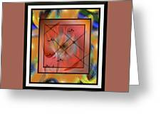 Modern Colours #2 Greeting Card