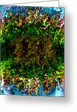 Modern Composition 17 Greeting Card