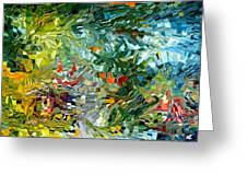 Modern Composition 31 Greeting Card