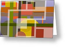Modern Harmonious Abstract Greeting Card