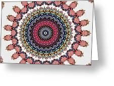 Modern Mandala Art 28 Greeting Card