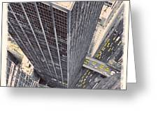 Modern Skyscrapers Greeting Card