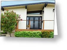 Modern Suburban House Hayward California 27 Greeting Card