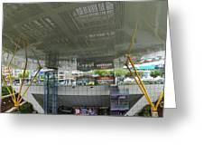 Modern Subway Station Design In Taiwan Greeting Card