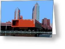 Modern Tampa Greeting Card