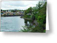 Modern Trondheim Greeting Card
