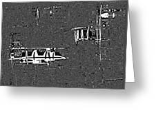 Modern Warfare Greeting Card