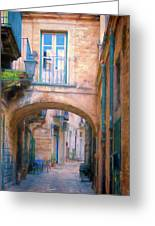 Modica Street Greeting Card