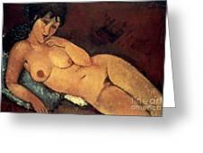 Modigliani: Nude, 1917 Greeting Card by Granger