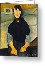 Modigliani: Woman, 1918 Greeting Card