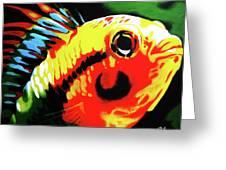 Mohawk Fish Greeting Card
