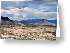 Mojave Desert Route 66 Greeting Card