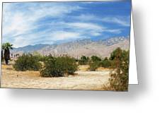 Mojave Pan 2 Greeting Card
