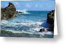 Mokolua Seascape Greeting Card