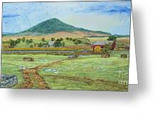 Mole Hill Panorama Greeting Card