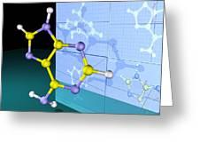 Molecular Design Greeting Card