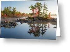 Molega Lake, Nova Scotia Greeting Card