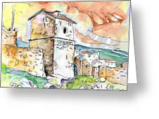 Molina De Aragon Spain 02 Greeting Card