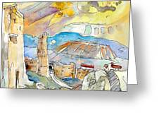 Molina De Aragon Spain 03 Greeting Card