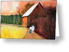 Molly And Me Greeting Card
