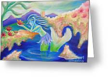 Molly Mermaid Greeting Card