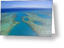 Molokai, Aerial Greeting Card