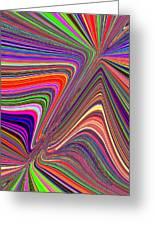 Molten Rainbow Greeting Card