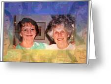 Mom Is Turning Ninety Greeting Card