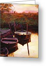 Moment At Sunrise Greeting Card