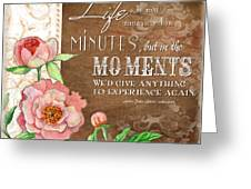 Moments Greeting Card
