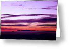 Moments Before Sunrise Greeting Card