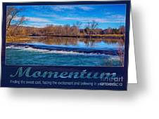Momentum By Omashte Greeting Card